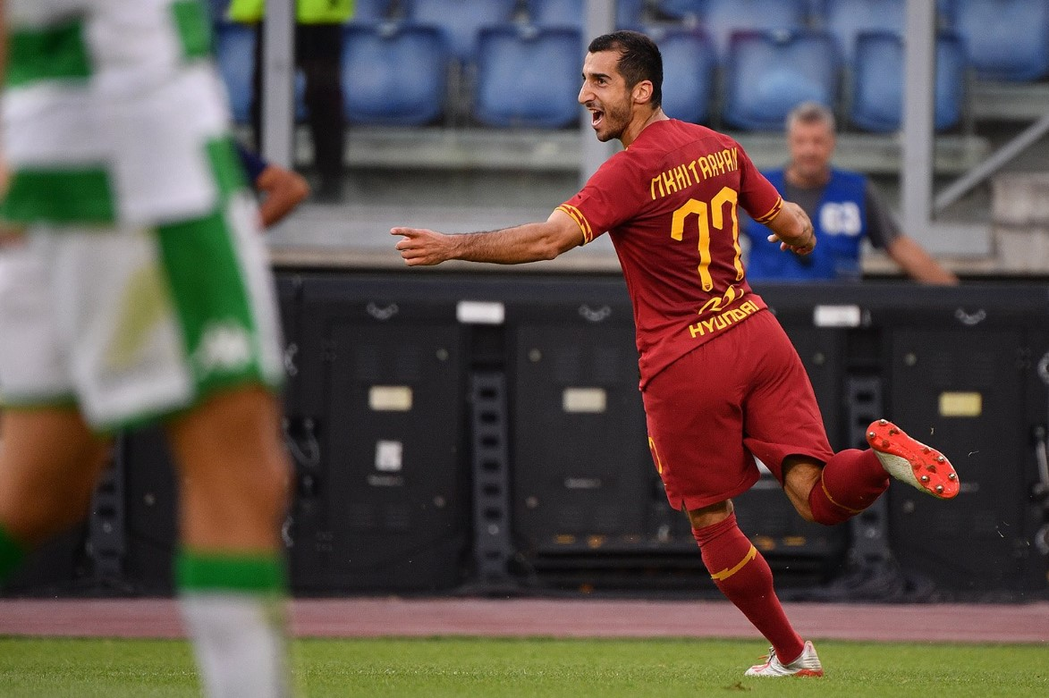 Mkhitaryan's debut goal at Roma