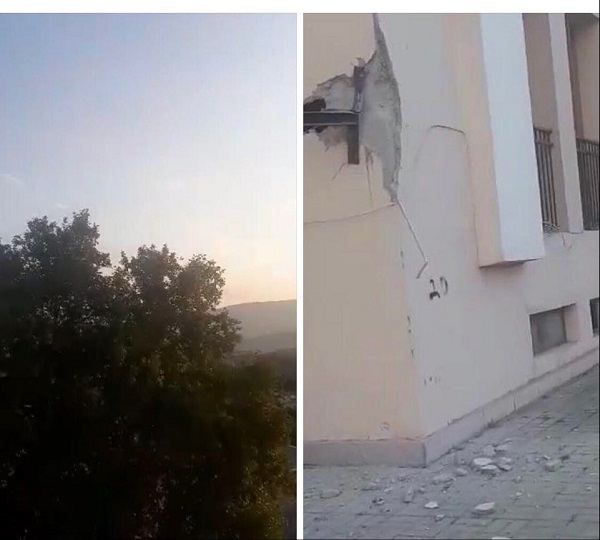 The Azerbaijani armed forces targeted the civilian population and fired large-caliber weapons